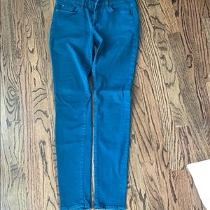 Teal seven jeans size 28
